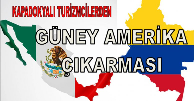 KAPADOKYALI TURİZMCİLERDEN G.AMERİKA ÇIKARMASI!